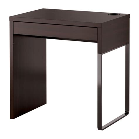 Small Pc Desk Ikea Micke Desk Black Brown Ikea