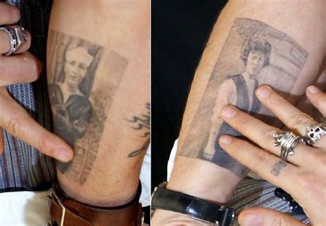 skull tattoo johnny depp my body is my journal johnny depp fanpop page 8