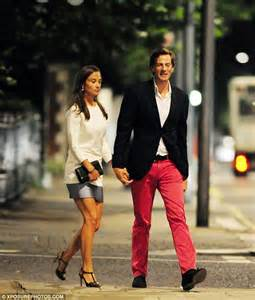 pippa middleton and her boyfriend nico jackson enjoyed at pippa middleton s boyfriend nico jackson s bright trousers