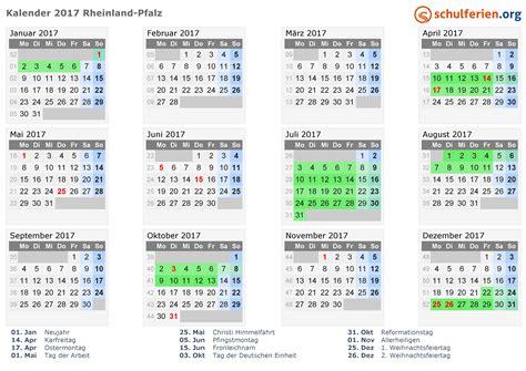 kalender  ferien rheinland pfalz feiertage