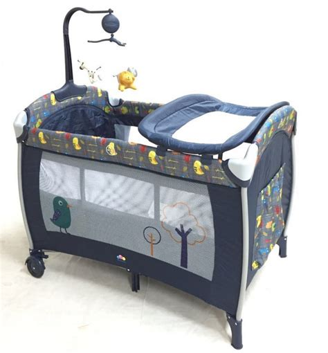 Baby Cribs And Playpens by Bubbles Chirpy Bird Playpen With Mosquito Net Playpen And Crib Baby Cot Nursery
