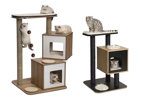 modern cat furniture sneak peek new vesper modern cat furniture from hagen