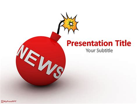 breaking news powerpoint template free breaking news powerpoint template download free