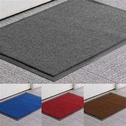 heavy duty non slip rubber barrier mat large small rugs