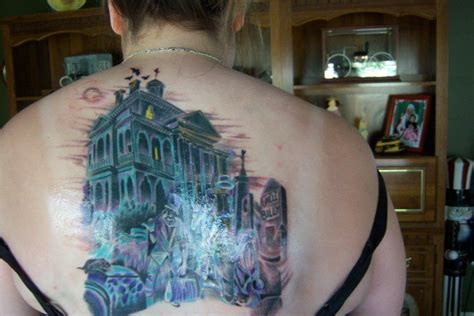 disneyland tattoos disneyland haunted mansion tattoos