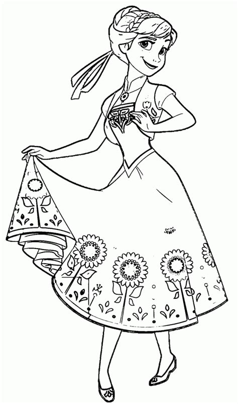 princess coloring pages frozen anna beautiful princess elsa frozen coloring pages to download