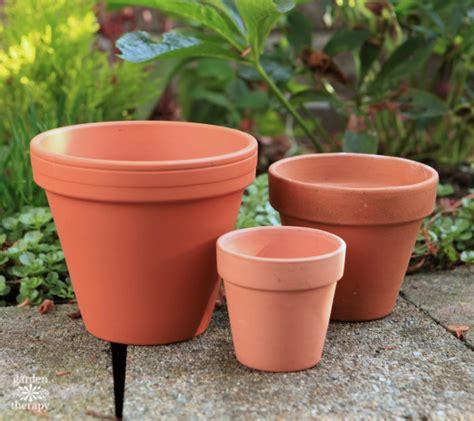 flower pot my gilty pleasure gold painted flowerpots garden therapy