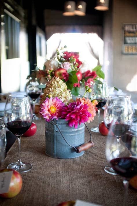 Pin By Arielle Marissa On Lake Michigan Wedding Pinterest Tin Buckets For Centerpieces