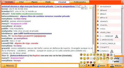 mi chat con camara chat para mi web o blog crear webchat en flash gratis