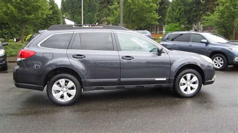 2011 Subaru Outback Dark Gray Metallic Stock 13518a