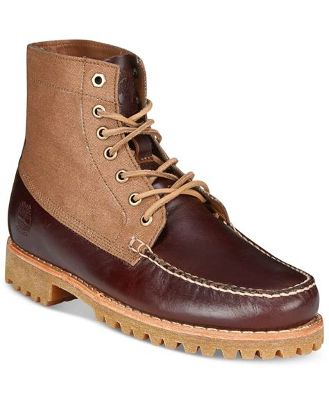 macys mens timberland boots timberland s authentics chukka boots in brown for