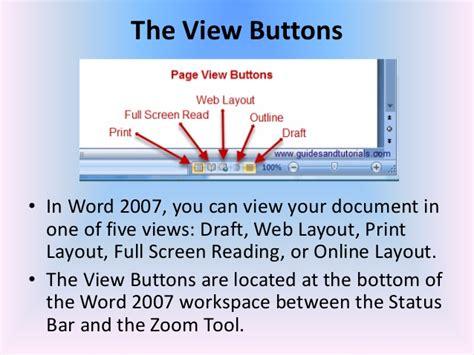 reading layout word 2007 miicrosoft word 2007