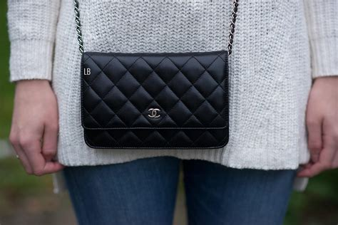 Bag Chanel Woc my new chanel wallet on chain woc bag in black