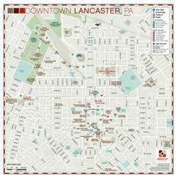 map of lancaster image gallery lancaster city map