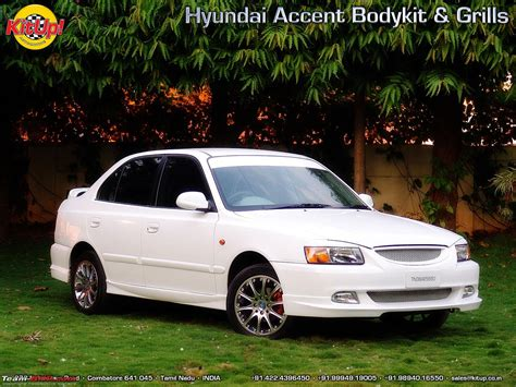 Car Modification Kit by Hyundai Accent Modifications Team Bhp