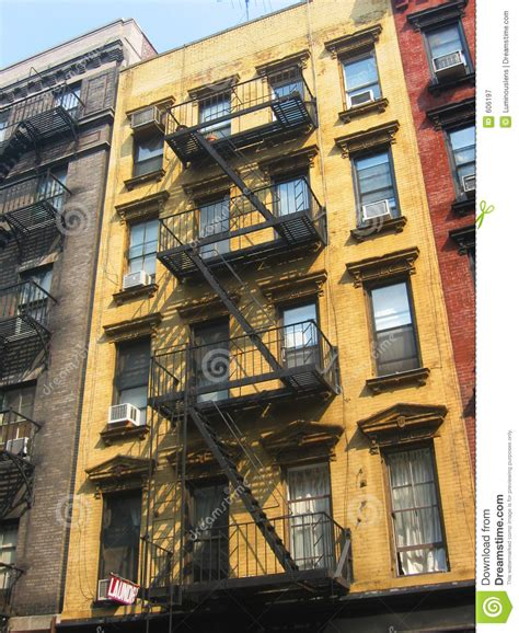 Nyc Appartment by New York City Apartment Buildings Royalty Free Stock