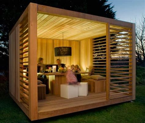 Garden Shelter Ideas Eco Cube Outdoor Garden Shelters Shelters