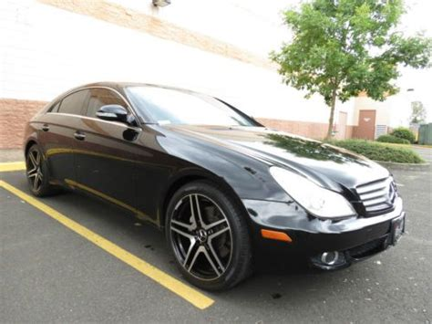 2007 Mercedes Cls550 by Buy Used 2007 Mercedes Cls550 Cls 550 19 Amg Wheels In