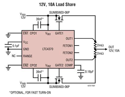 ltc4370 two supply diode or current balancing controller elecena pl wyszukiwarka element 243 w