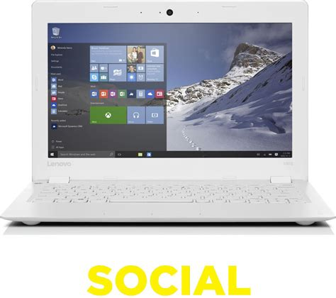 Laptop Lenovo Ideapad 100s lenovo ideapad 100s 11 6 quot laptop white deals pc world