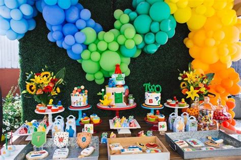 Lorful Sesame Street Themed  Ee  Birthday Ee    Ee  Party Ee   Pretty