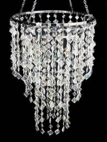 plastic crystals for chandeliers 11 quot wedding chandeliers centerpiece ab silve acrylic