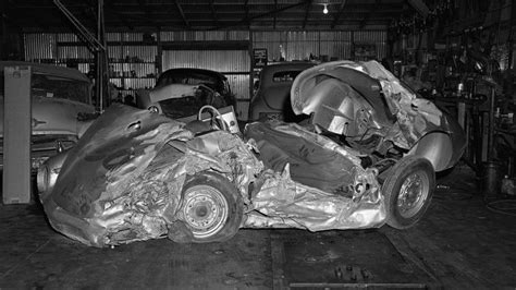 James Dean Porsche Crash by James Dean Crash Site 60 Years Later Fans Still Leave