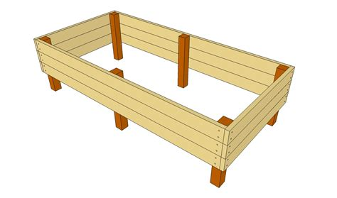 elevated bed frame plans raised garden bed plans raised garden bed plans free