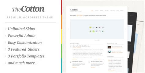 themeforest remark the cotton 1 1 4 powerful minimalistic themeforest wp