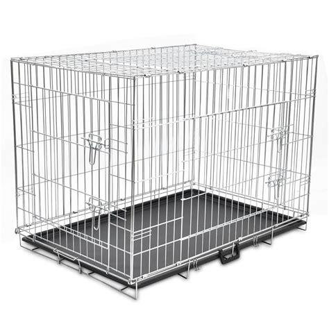 cani in gabbia gabbia per cani pieghevole xl vidaxl it