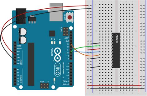 digital resistor spi lab spi communication with a digital potentiometer itp physical computing