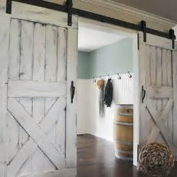 White Interior Barn Doors 1000 Images About Bedroom On Hallways Accent Walls And Front Rooms
