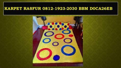 Karpet Karakter Upin Ipin promo 0812 1923 2030 tsel jual karpet rasfur jual