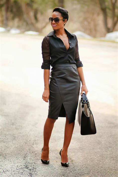 how to wear clipins black women how to make the all black look work for you styles weekly