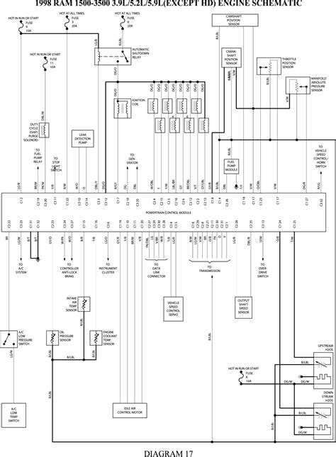 2001 Dodge Durango Exhaust System Diagram Wiring Schematic