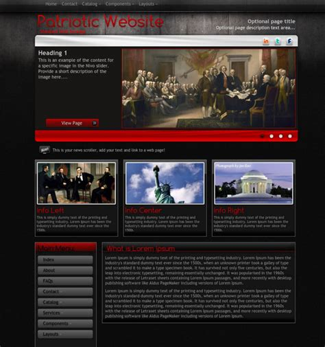premium html themes download 15 patriotic wordpress themes free premium templates