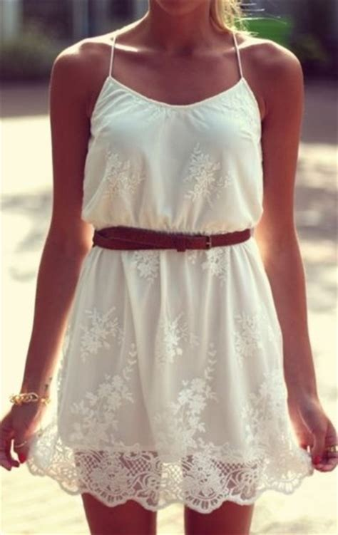 dress white lace country country style country dress - White Country Style Dresses