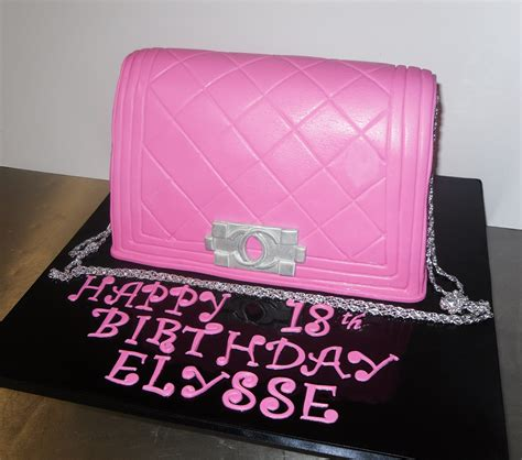 Chanel Anak Pink K pink chanel bag cake www pixshark images galleries with a bite