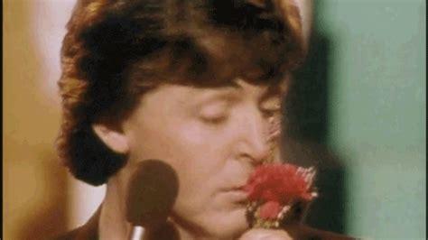 Did Paul Mccartney Really Send Flowers by Happy Anniversary Flowers Gif By Paul Mccartney Find