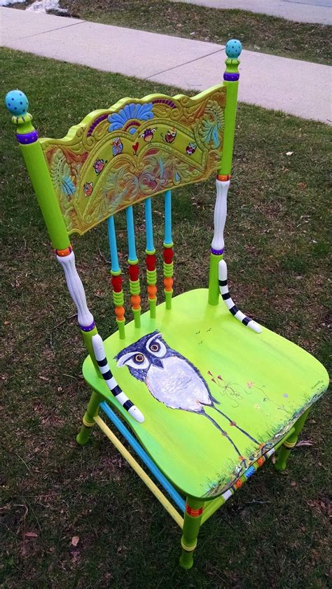 painted chair ideas carolyn s funky furniture barbara funky