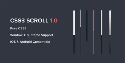 div scrollbar css css3 scroll codeholder net