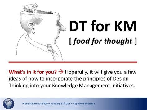 Design Thinking Knowledge Management | design thinking for knowledge management