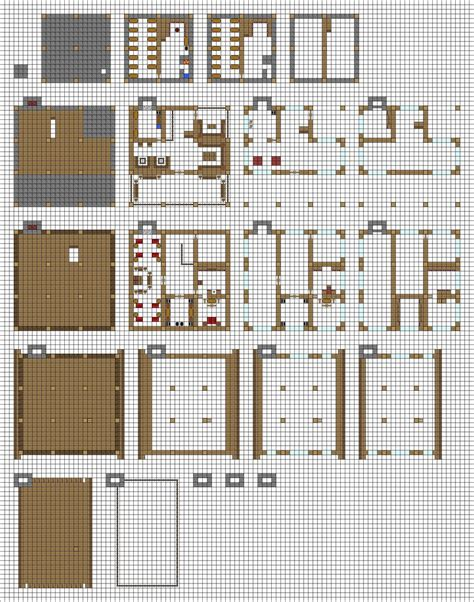 minecraft house blueprints layer by layer inspired by coltcoyote by mysticsamuraix on deviantart