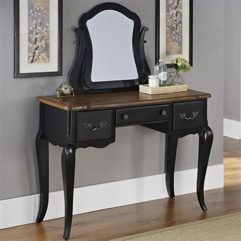 cherry wood vanity bench warm cherry wood makeup vanity table with mirror and bench