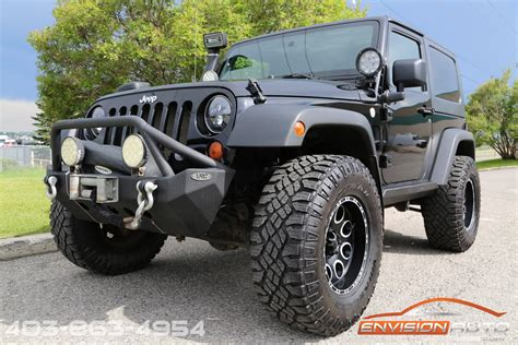 2010 Jeep Wrangler Custom Lift Winch Bumper Led Lights
