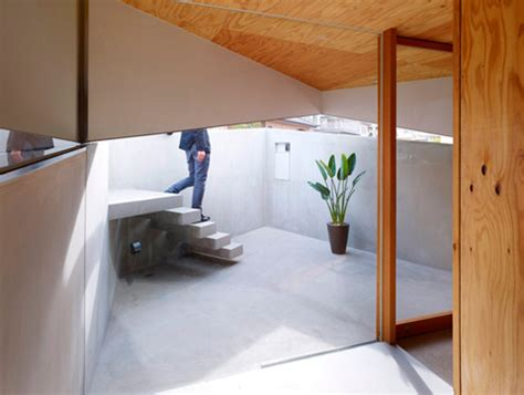 Outer Wall Design Architecture by House In Saka Between Inner And Outer Walls Japanese