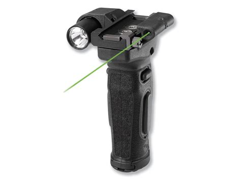 vertical grip with light crimson trace lasergrips modular ar 15 vertical forend