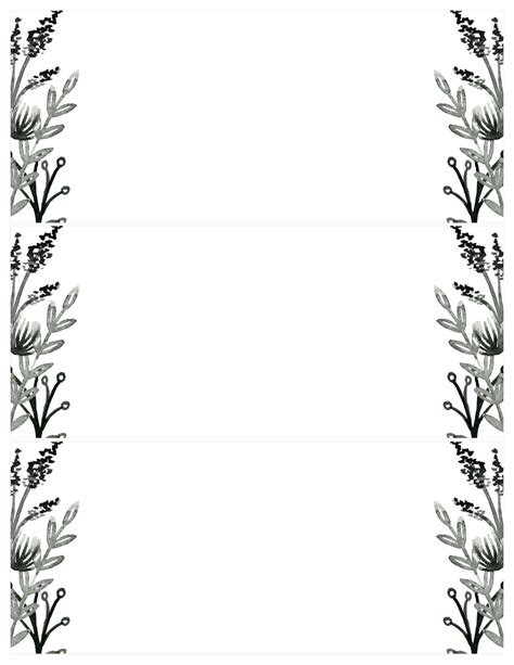 card template black and white black white flowers invitations templates free printable