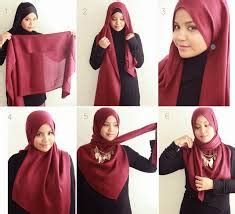 tutorial hijab segitiga easy tutorial hijab segitiga yang simple 2016 17 hijabiworld