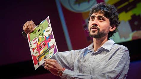 Ted Talk Origami - manu prakash a 50 cent microscope that folds like origami